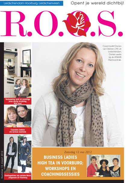 Artikel over Business Ladies High tea in Voorburg; workshops en coachingssessies
